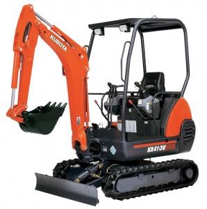 Excavator KX 41 / 600v